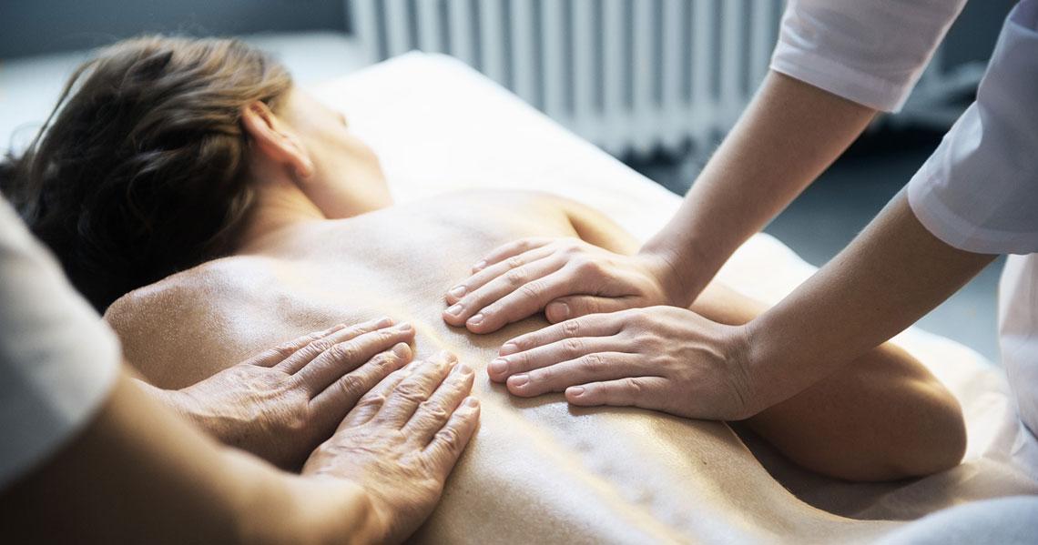 Королевский массаж в 4 руки